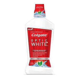 Colgate Optic White Mouthwash - Dentist.net