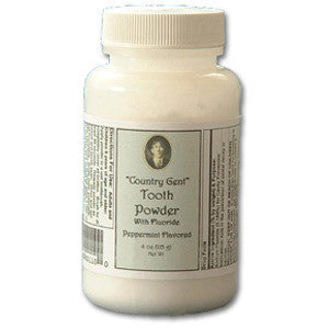 Country Gent Tooth Powder - Dentist.net