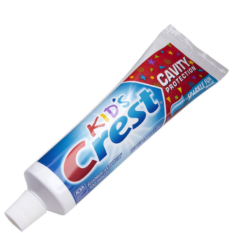 Crest Kids Cavity Protection Sparkle Fun Toothpaste 0.85 oz - Dentist.net