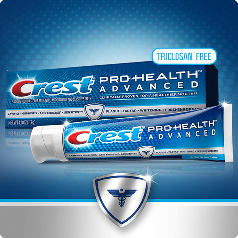 Crest Pro-Health Advanced Smooth Mint Toothpaste - Dentist.net