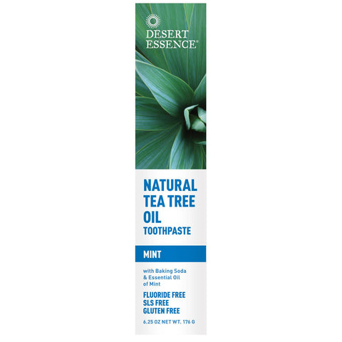 Desert Essence Natural Tea Tree Oil Toothpaste - Dentist.net