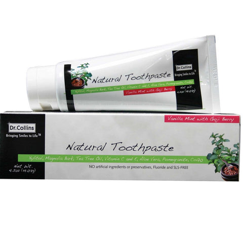 Dr.Collins Natural Toothpaste - Dentist.net