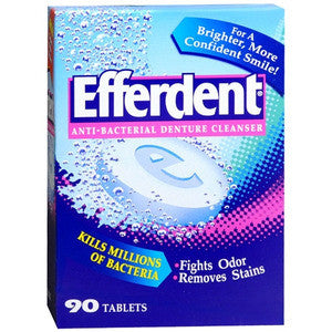 Efferdent Anti-Bacterial Denture Cleanser - Dentist.net
