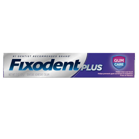 Fixodent Plus Denture Adhesive .35 oz Travel Size - Dentist.net