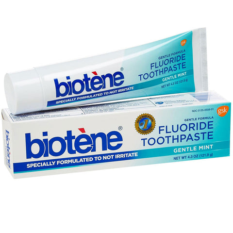 Biotene Gentle Mint Dry Mouth Toothpaste - Dentist.net