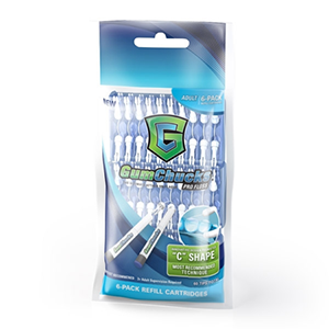 GumChucks Profloss– Adult Cartridge 6-Pack -60 Refills - Dentist.net