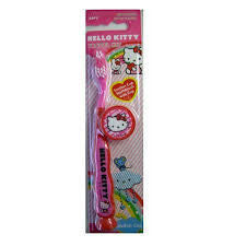 Dr. Fresh Hello Kitty Suction Cup Toothbrush - Dentist.net