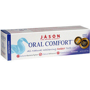 Jason Natural Oral Comfort Toothpaste For Sensitive Teeth - Dentist.net