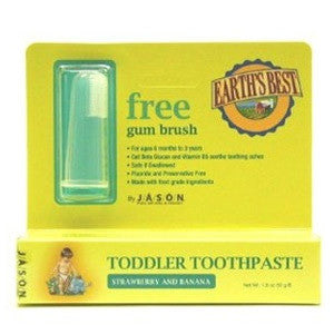 Jason Natural Toddler Toothpaste plus Gum Brush - Dentist.net