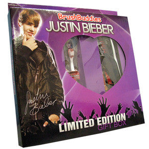 Brush Buddies Justin Bieber Limited Edition Gift Set - Dentist.net
