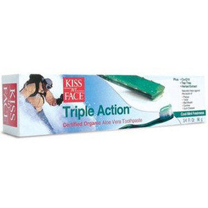 Kiss My Face Triple Action Toothpaste - Dentist.net
