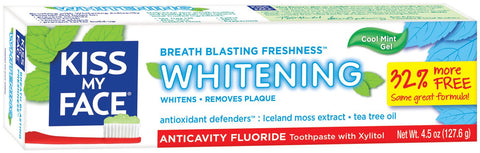 Kiss My Face Whitening Toothpaste - Dentist.net