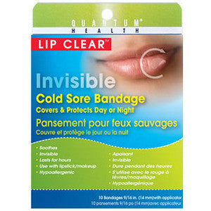 Lip Clear Invisible Cold Sore Bandage - Dentist.net