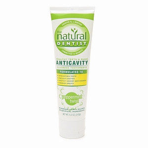 Natural Dentist Healthy Teeth and Gums Toothpaste - Dentist.net