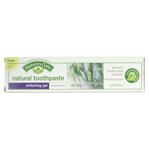Nature's Gate Whitening Gel Natural Toothpaste - Dentist.net