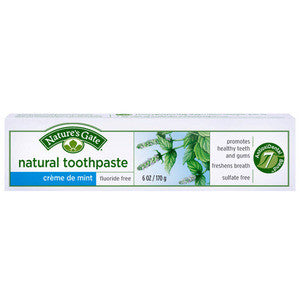 Nature's Gate Natural Toothpaste-Creme De Mint - Dentist.net