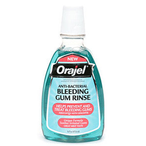 Orajel Anti-Bacterial Bleeding Gum Rinse - Dentist.net