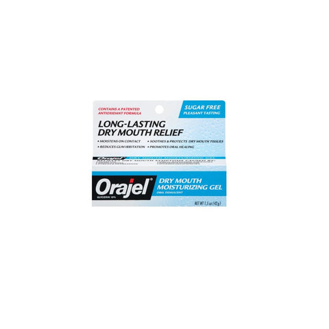 Orajel Dry Mouth Moisturizing Gel - Dentist.net