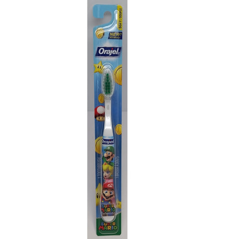 Orajel Super Mario Soft Toothbrush - Dentist.net