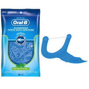 Oral-B Advantage Floss Picks - Dentist.net
