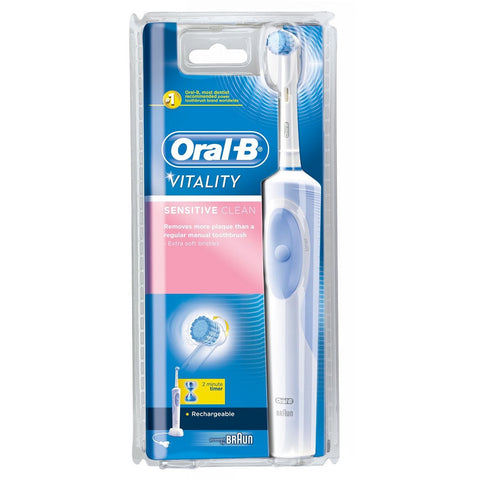 Oral-B Vitality Sensitive Clean Rechargeable Toothbrush - Dentist.net