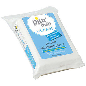 Pjur MedClean Moist Wipes - Dentist.net
