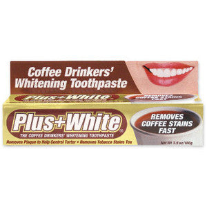 Plus White Coffee Drinkers Toothpaste - Dentist.net
