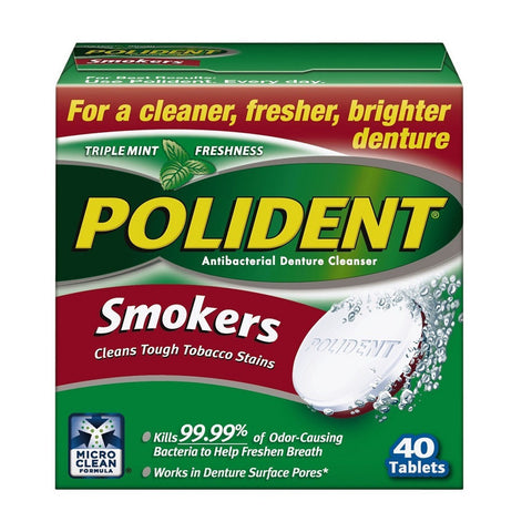 Polident Smokers Denture Cleanser - Dentist.net