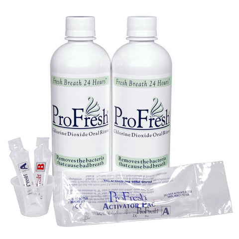 Profresh Chlorine Dioxide Oral Rinse 2 pack - Dentist.net