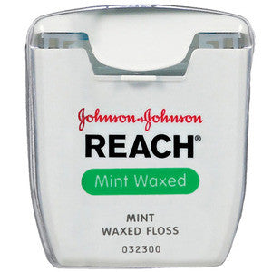 REACH Mint Waxed Dental Floss - Dentist.net