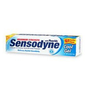 Sensodyne Cool Gel Anticavity Toothpaste - Dentist.net