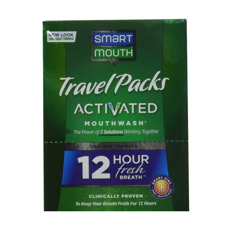 SmartMouth Travel Packs Mouthwash Packets 2pk - Dentist.net