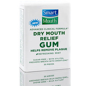 SmartMouth Sugar Free Gum with Zinc - Dentist.net