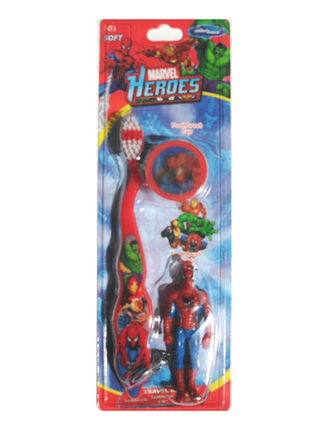 Dr. Fresh Marvel Heroes Toothbrush Buddy Pack - Dentist.net