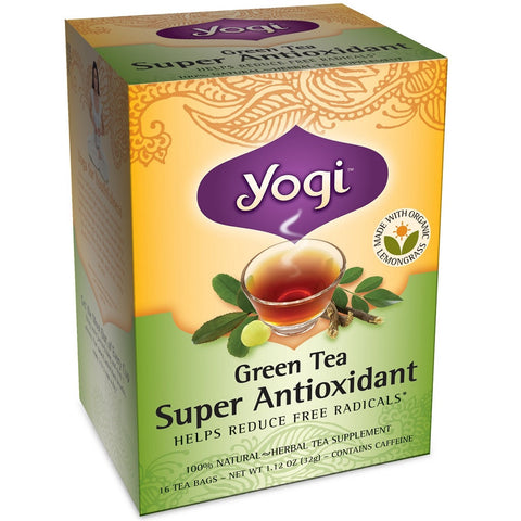 Yogi Green and Herbal Teas - Green Tea Super Antioxidant - 1