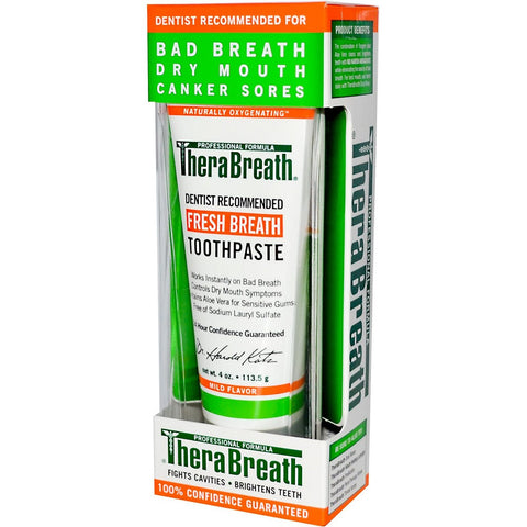 TheraBreath No Fluoride Toothpaste -