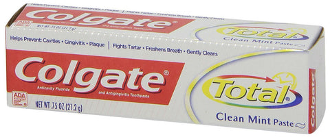 Colgate Total Clean Mint Toothpaste - Dentist.net