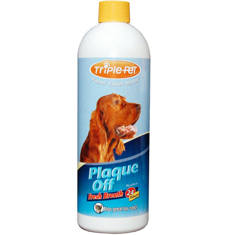 Benedent Triple Pet Plaque Off-Fresh Breath - 16oz - Dentist.net