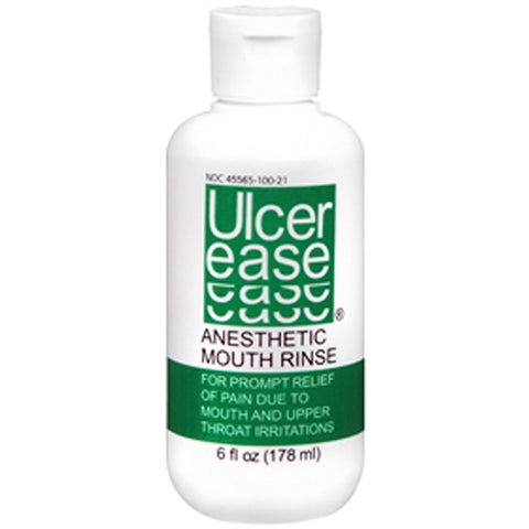 Ulcerease Anesthetic Mouth Rinse - 1 oz Travel Size