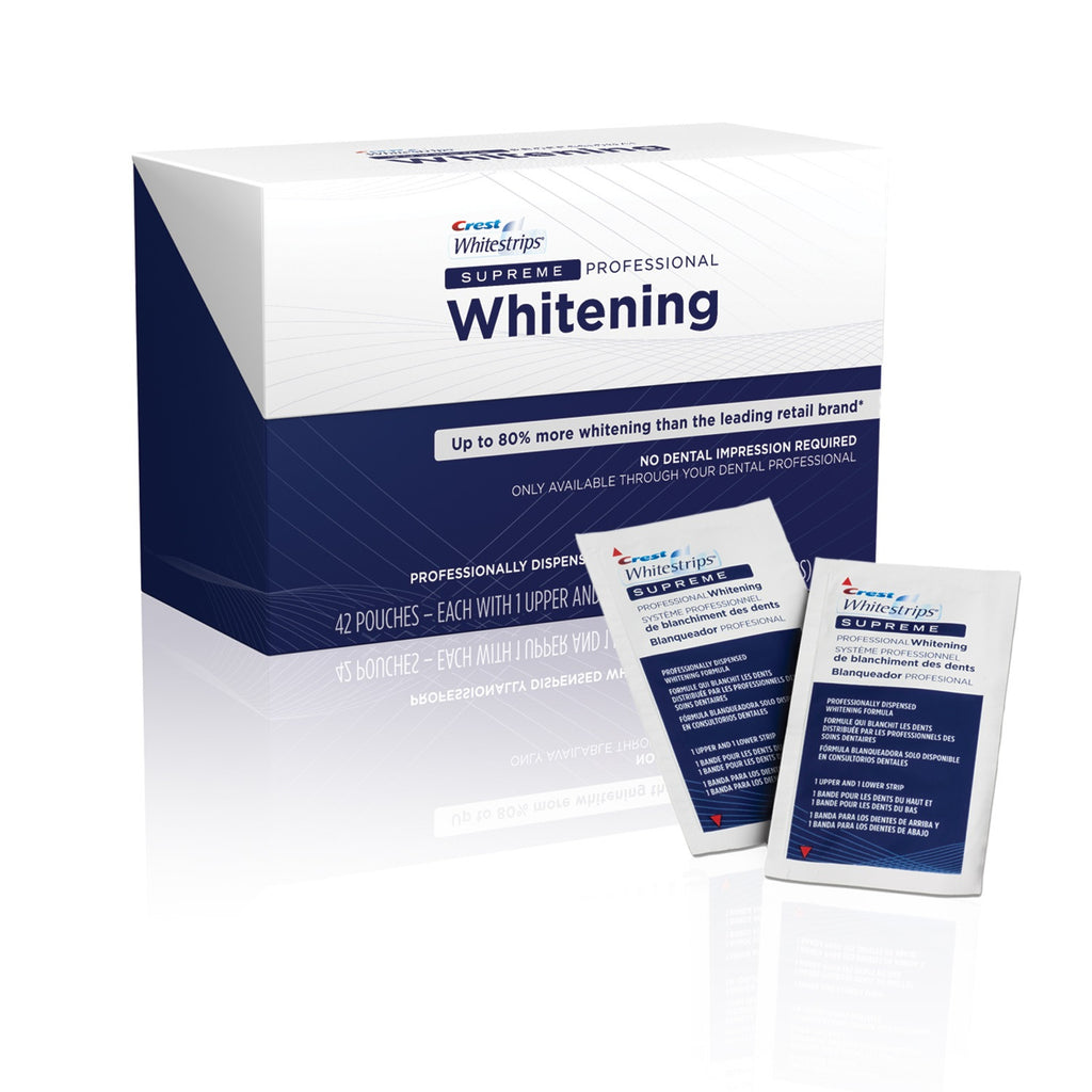 Crest Whitestrips Supreme Teeth Whitening Not Sold In S Dentist Net