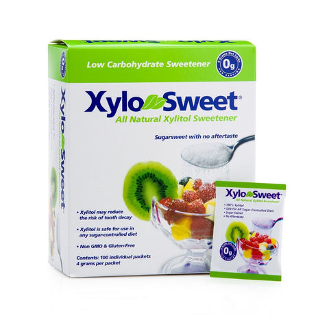 Xylosweet Sweetener with Xylitol - 100 Packets - 1