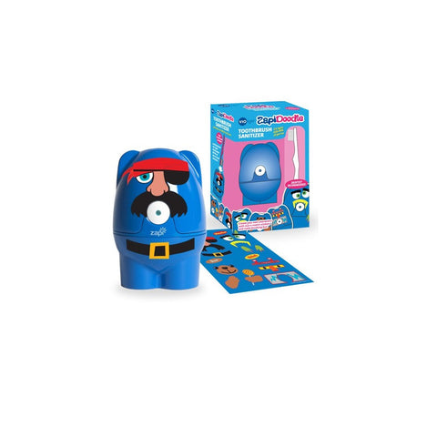Violight Zapi-Doodle Toothbrush Sanitizer - Blue - 1