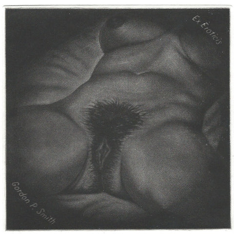 DARIUS DESSAUER -   ORIGINAL    -    MEZZOTINT ON COPPER    -      SIGNED.