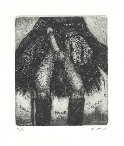 PATRICIA NIKDAD -   ORIGINAL    -   ETCHING WITH AQUATINT ON COPPER    -      SIGNED.