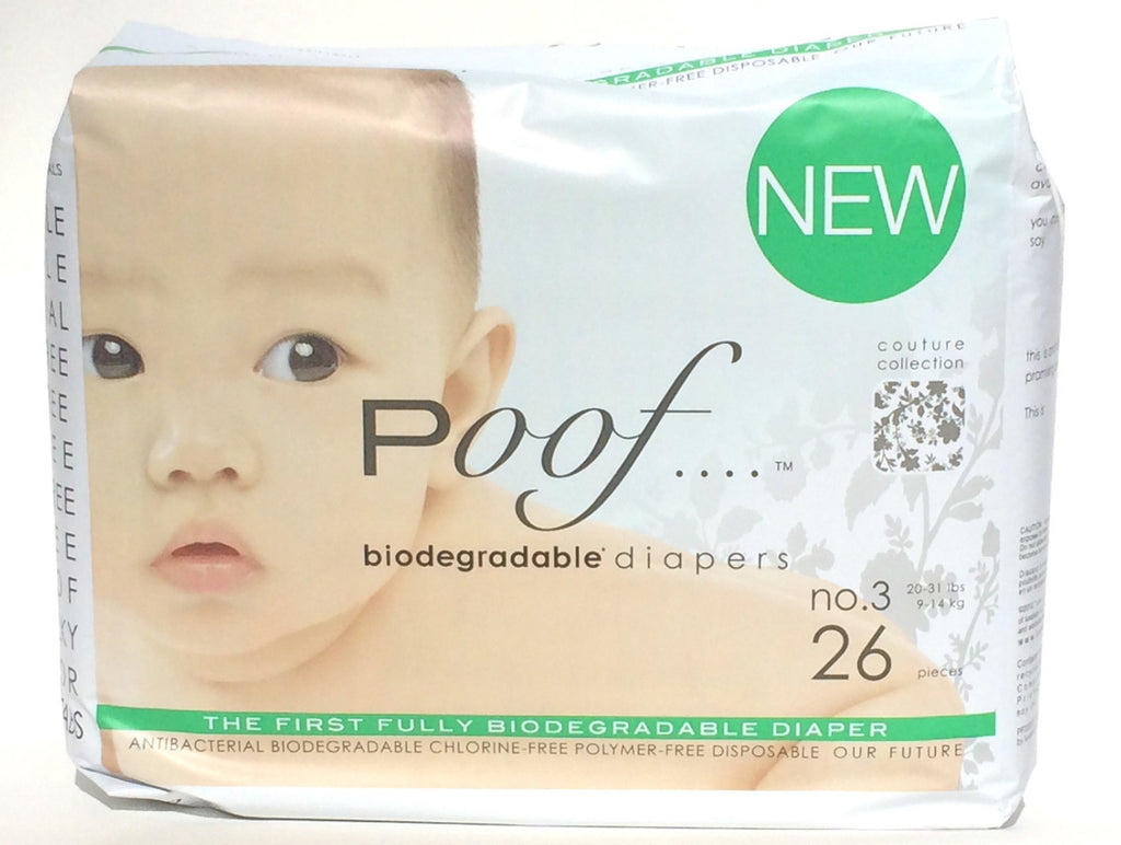 case of poof diapers: taupe chinoiserie - poof diapers - 7