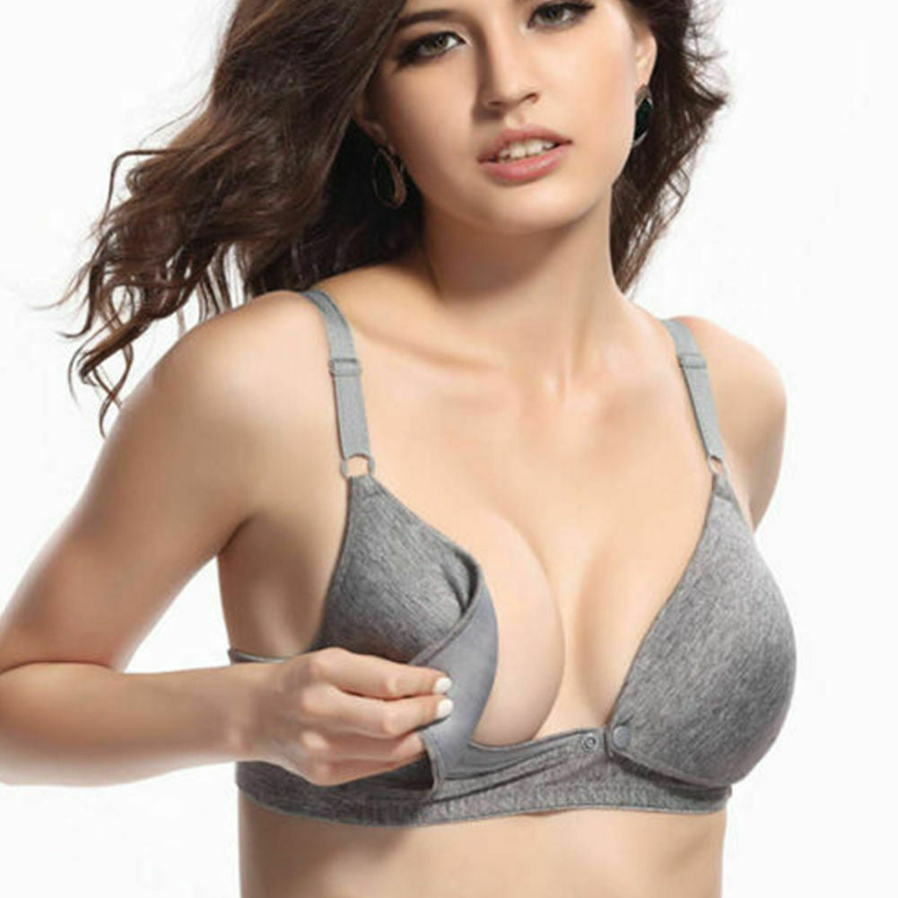 Microdenier Nylon/Cotton nursing bra.
