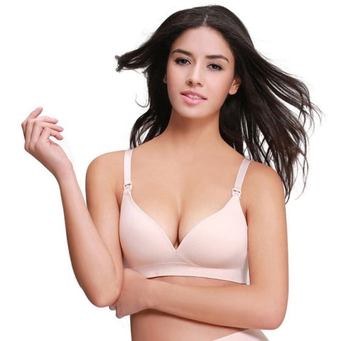 Combed Cotton Nursing Bra wire free