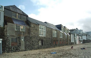 Porthmeor Studios from the beach