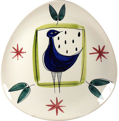 Bird plate design by Inger Waage 1950's