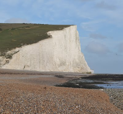 Cliffs at Cuckmere Have, Sussex
